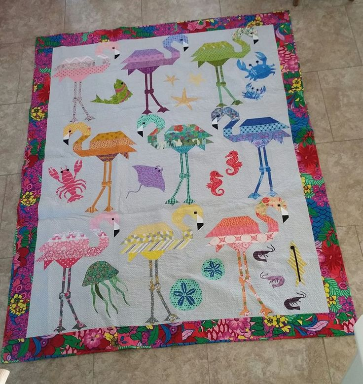The Original Pattern Was Just The Flamingos And The