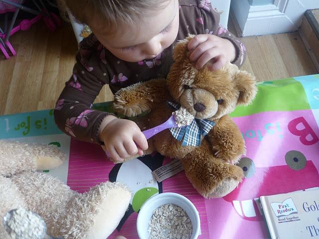 Goldilocks and the Three Bears Dramatic Play