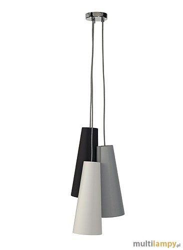 Spotline Soprana Cone PD-2 lampa wisząca 3-punktowa 155770 - Multilampy.pl