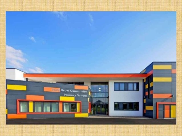 Image result for colours for facades of school | School ...