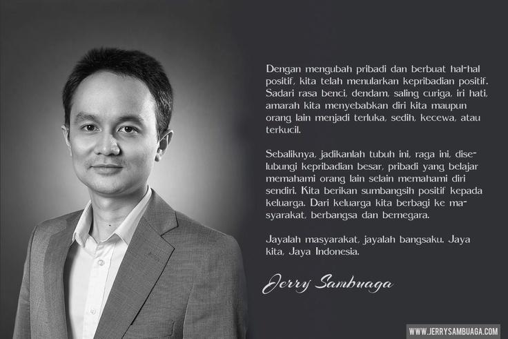 Jerry Sambuaga designed Quote