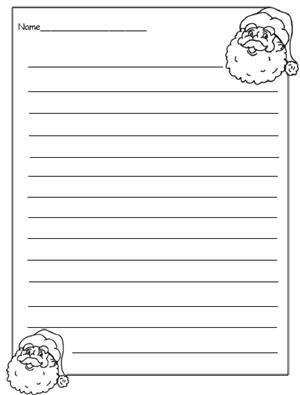 Christmas Writing Worksheets: Santa Writing Theme (Print PDF and See All Worksheets Below)