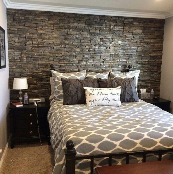 45 Modern Rustic Master Bedroom Decor and Design Idea –