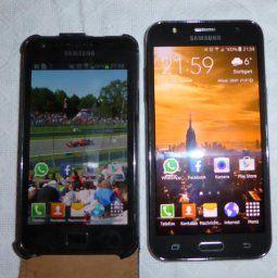 Samsung Galaxy J5 Smartphone (5 Zoll (12,7 cm) Touch-Display, 8 GB Speicher, Android 5.1) schwarz: Amazon.de: Elektronik