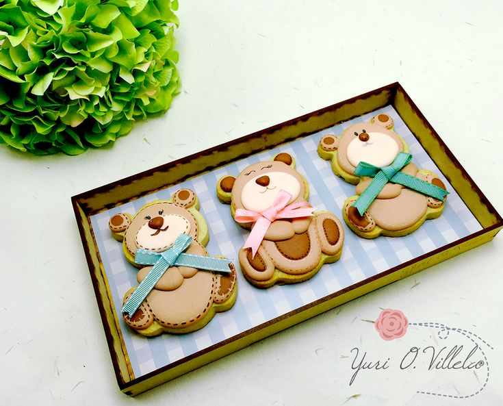 Teddy Bear Cookies | Cookie Connection
