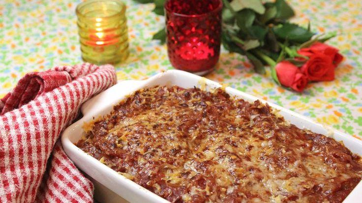 Vegetarische lasagne met mozzarella, spinazie en snijbiet | VTM Koken