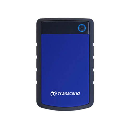 Transcend StoreJet 25H3 2 TB External Hard Drive  (Navy Blue) - Buy Transcend StoreJet 25H3 2 TB External Hard Drive  (Navy Blue) Online at Best Price in India - G4buy.com