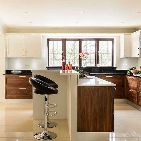 [+] Walnut And Cream Kitchen Design Ideas