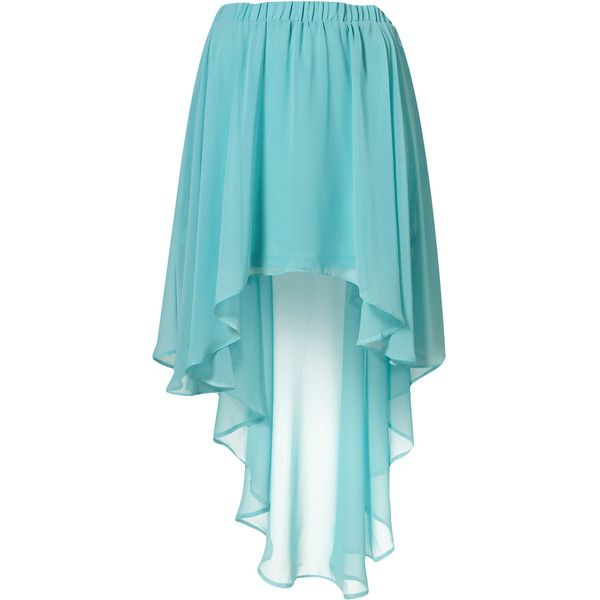 Ariya Skirt by Goldie** (76 RON) ❤ liked on Polyvore featuring skirts, mint, saias, mint skirt, blue skirt and mint green skirt