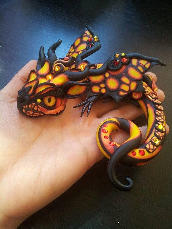 Splendor Baby Dragon by MakoslaCreations on Etsy