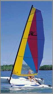 Coastal Kayak sailboat rentals I got to get a sail!