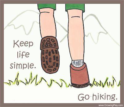 Keep Life Simple - Go Hiking