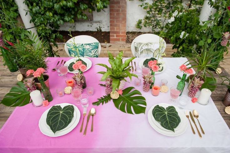 482 Best Tropical Wedding Ideas Images On Pinterest: Best 25+ Pink Tablecloth Ideas On Pinterest