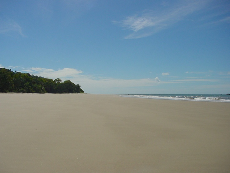 Beach at Daintree Rainforest
