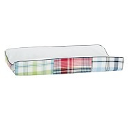 Madras Changing Pad Cover
