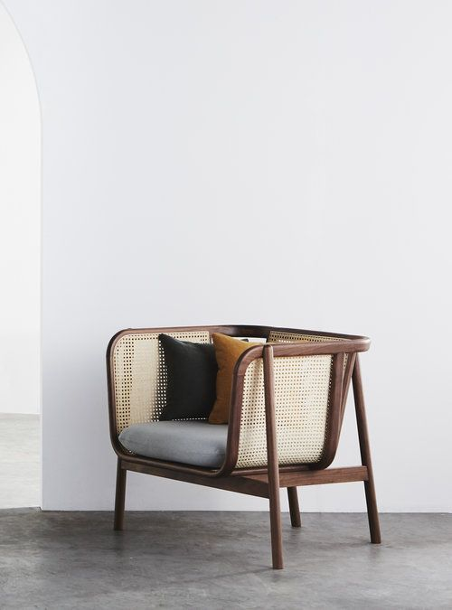 Cane Sofa #furniture #furnituredesign #design #so…