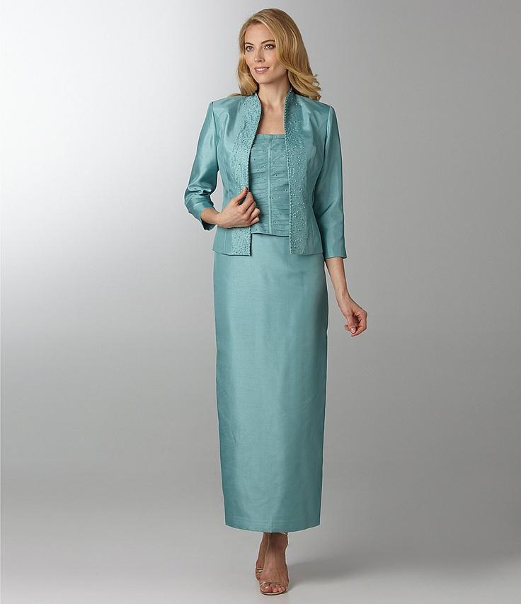 Jessica Howard Beaded Jacket Dress | Dillards.com