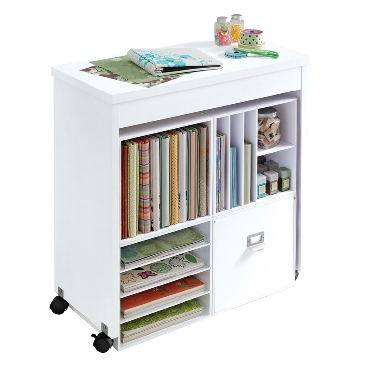The Recollections™ Moblie Work Table Is The Perfect Companion Piece To Our  Modular Storage.