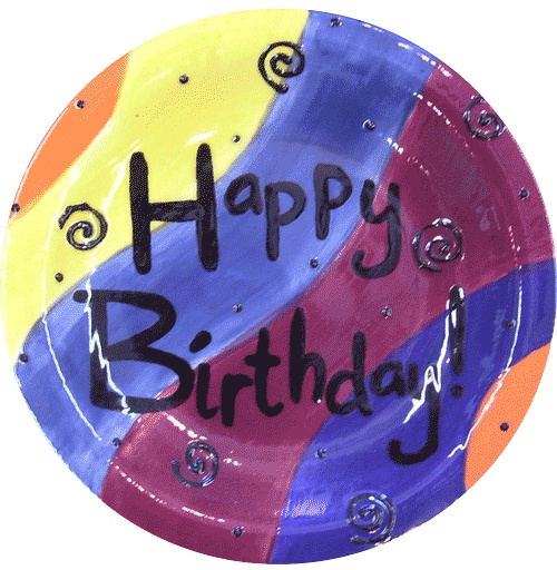 1000 images about happy birthday ceramic plate on pinterest for Diy ceramic plates