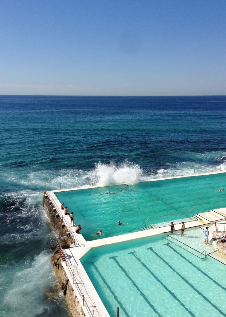I found it again and won't lose it this time- my long lost pool love! Bondi Icebergs pools - Bondi Beach, Sydney, Australia