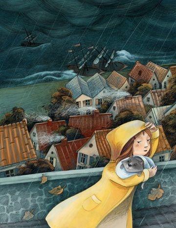 Storm -Livia Coloji / available as limited edition giclee print