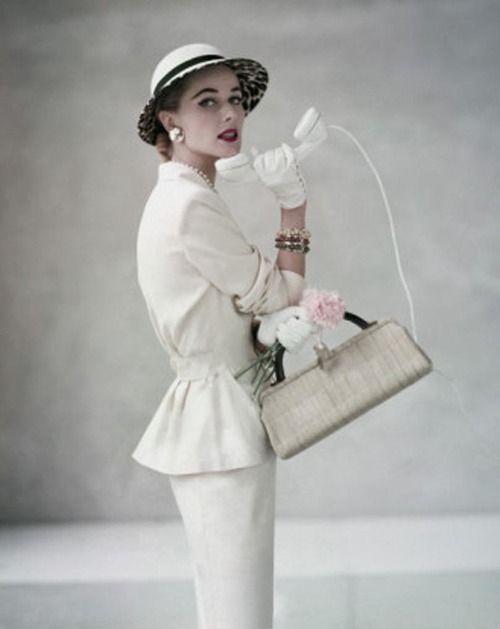white on white in 1953