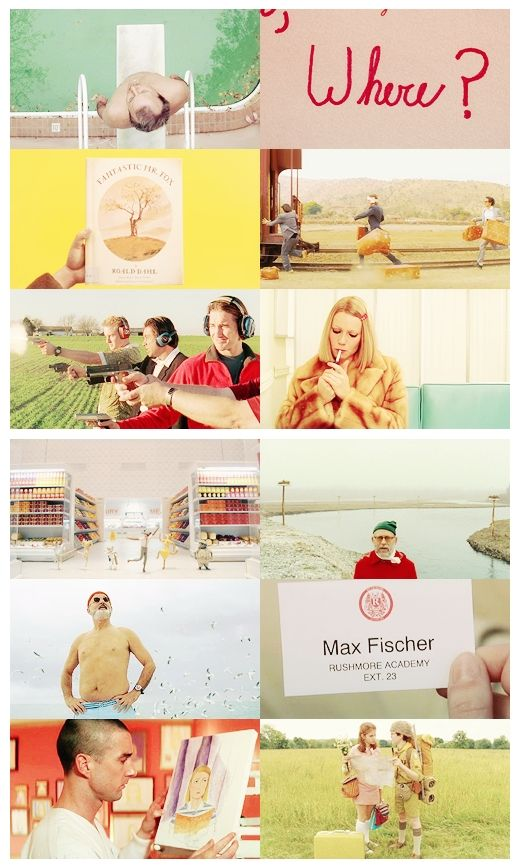 style inspiration - Wes Anderson