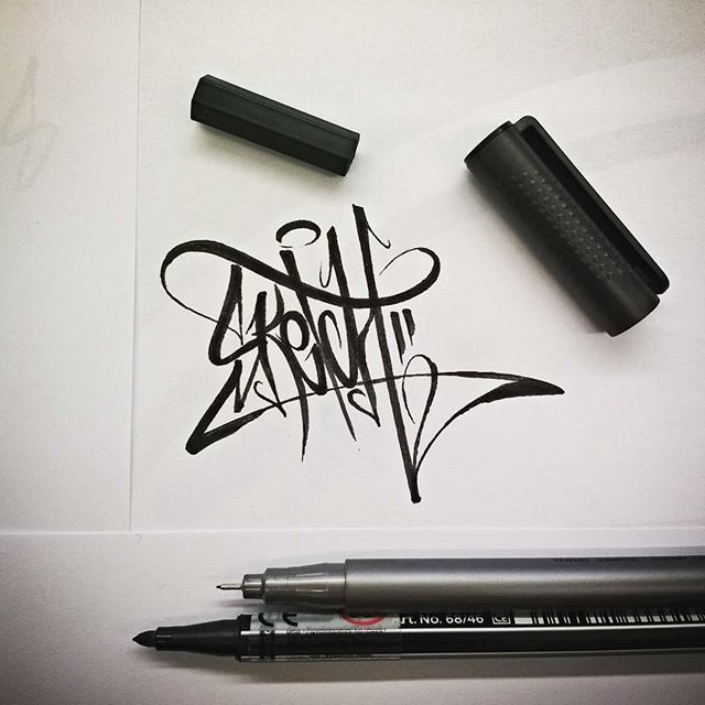 I love #Sketch #Grafftype #type