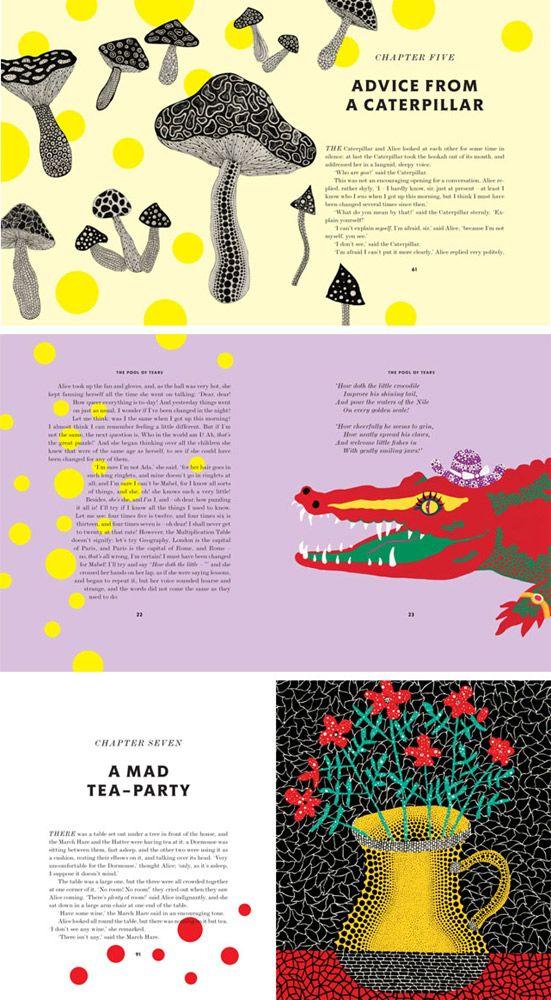 Alice's Adventures in Wonderland, as seen by Yayoi Kusama http://shop.tate.org.uk/invt/12802