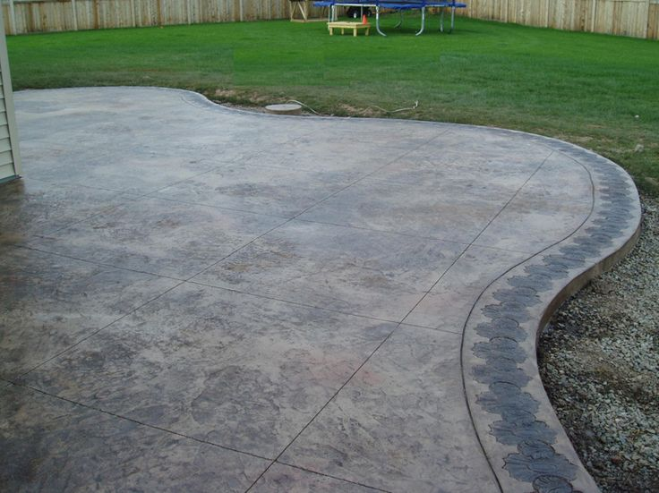 86 best stamped concrete images on pinterest stamped concrete
