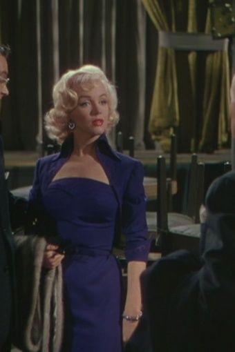 Marilyn Monroe in 'Gentlemen Prefer Blondes' (1953) / Costume designer: William Travilla