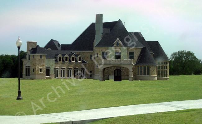 Chateau novella luxury house plan small castle plan for Luxury french chateau house plans