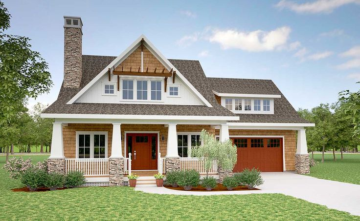 1000 images about floor plans on pinterest for Storybook craftsman house plans