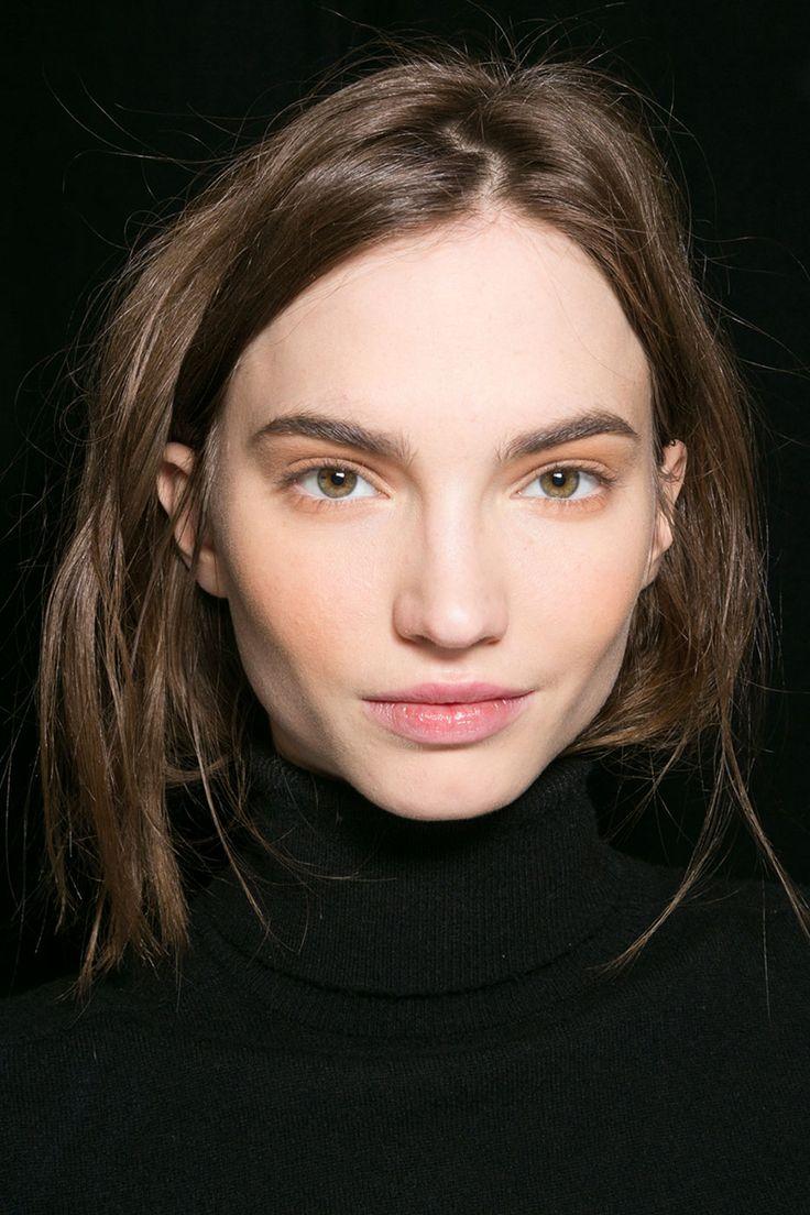 Medium - brow, Apricot - cheek, Mohair - lid, Brown - mascara, Blackberry (blotted) - lip