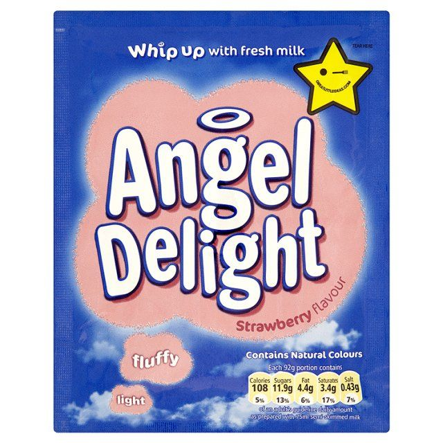 Angel Delight strawberry flavour #RetroFoods #70s. Used to love this, but can't imagine why now.