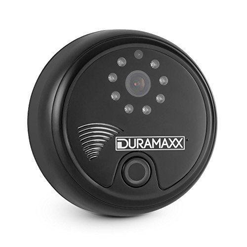 DURAMAXX Portier Sonnette WiFi interphone HD 1280×720 px infrarouge -noir: Price:181.99Ne ratez plus jamais ni paquets ni invités parce que…
