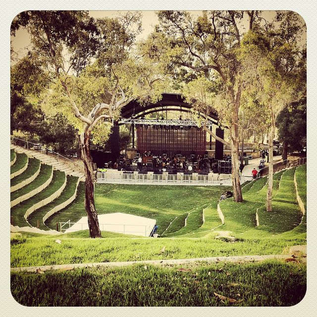Belvoir Amphitheater in Perth, Australia Established in 1830 and outdoor venue used for concerts, weddings, and other events houses of the arts- No