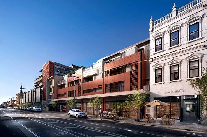 commercial, retail and residential development