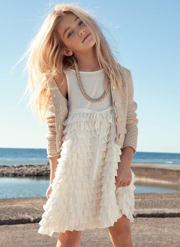 Twin-Set Girl SS14, moda italiana para niñas primavera-verano http://www.minimoda.es