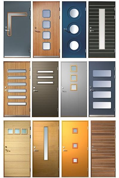 Lots Of Cool Doors