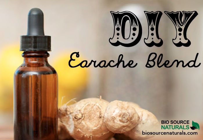 DIY earache relief blends for both adults and children by BioSource Naturals.
