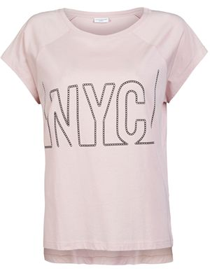 JDY Manhattan ss cities/nyc top box silver pink