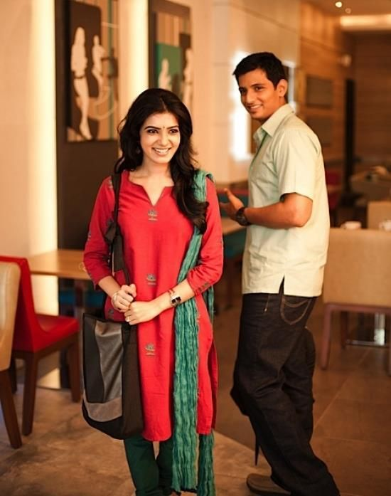 Samantha and Jeeva in Neethaane En Ponvasantham
