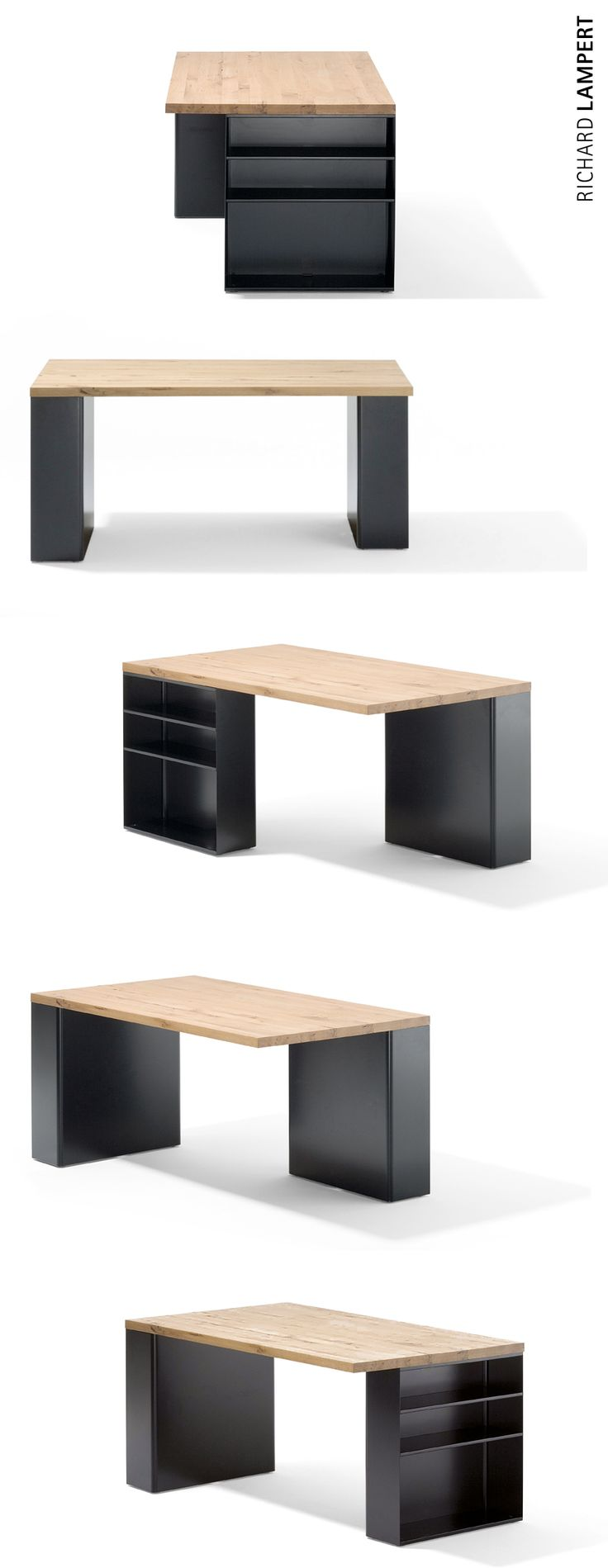 An elegant contemporary – ›BOOKTABLE‹ by Arik Levy