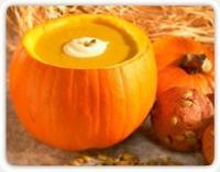Pumpkin Soup - Stonyfield Farm Recipe: Organizations Pumpkin, Farms Recipes, Soups Organizations, Soups Organicfestiv, Pumpkin Soups, Organizations Recipes, Organizations Soups, Soups Stew, Pumpkin Recipies