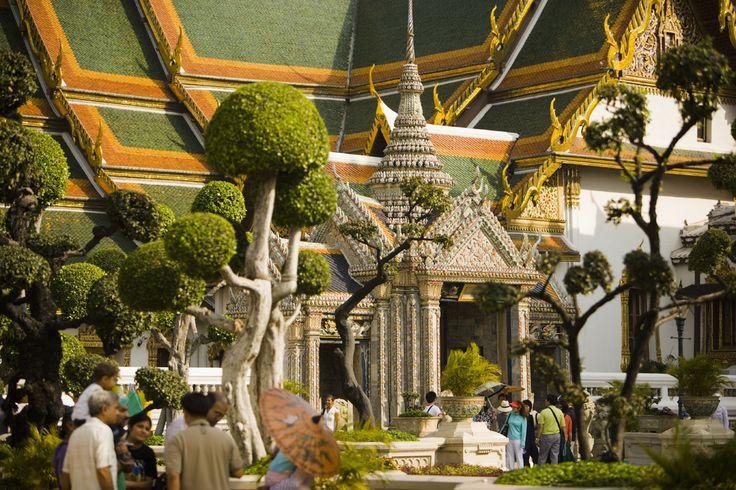 Jardines del Palacio Real, Bangkok - El verdor está en el aire: jardines donde perderse