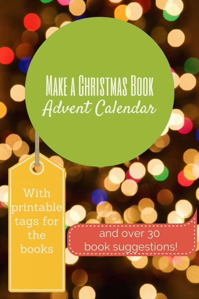 22 best family christmas and advent activities images on pinterest diy make a christmas book advent calendarwith printable tags and 30 christmas fandeluxe Choice Image