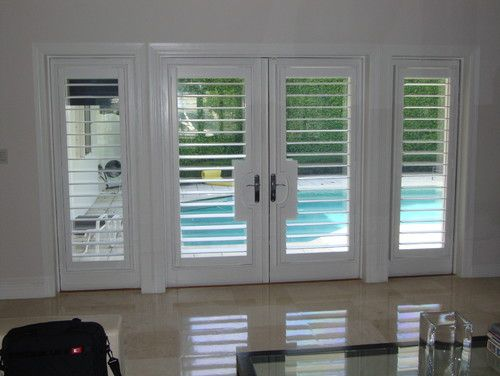 Interior Plantation Shutters For French Doors
