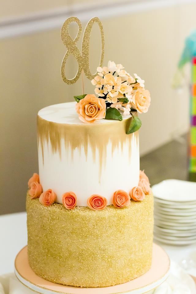 80th Birthday Cake Photo By Marianne Overton Photography
