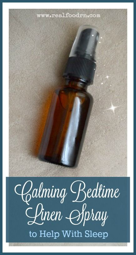 Calming Bedtime Linen Spray to Help With Sleep. One of my favorite parts of my day is spraying my pillow and sheets with this linen spray. Even smelling this gets me excited for sleep. The smell is amazing and the restful sleep is even better. I will never be without a bottle of this! #linenspray #essentialoils